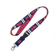 Ole miss rebels lanyard