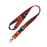Syracuse orange lanyard