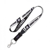 Tcu horned frogs lanyard