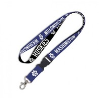 Washington huskies lanyard