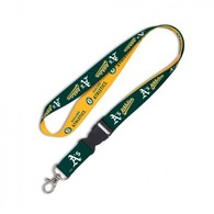 Oakland athletics lanyard