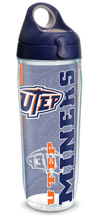 Water bottle university of texas el paso college pride w lid