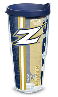 24oz university of akron college pride w lid