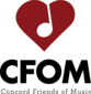 Concord Friends of Music - logo
