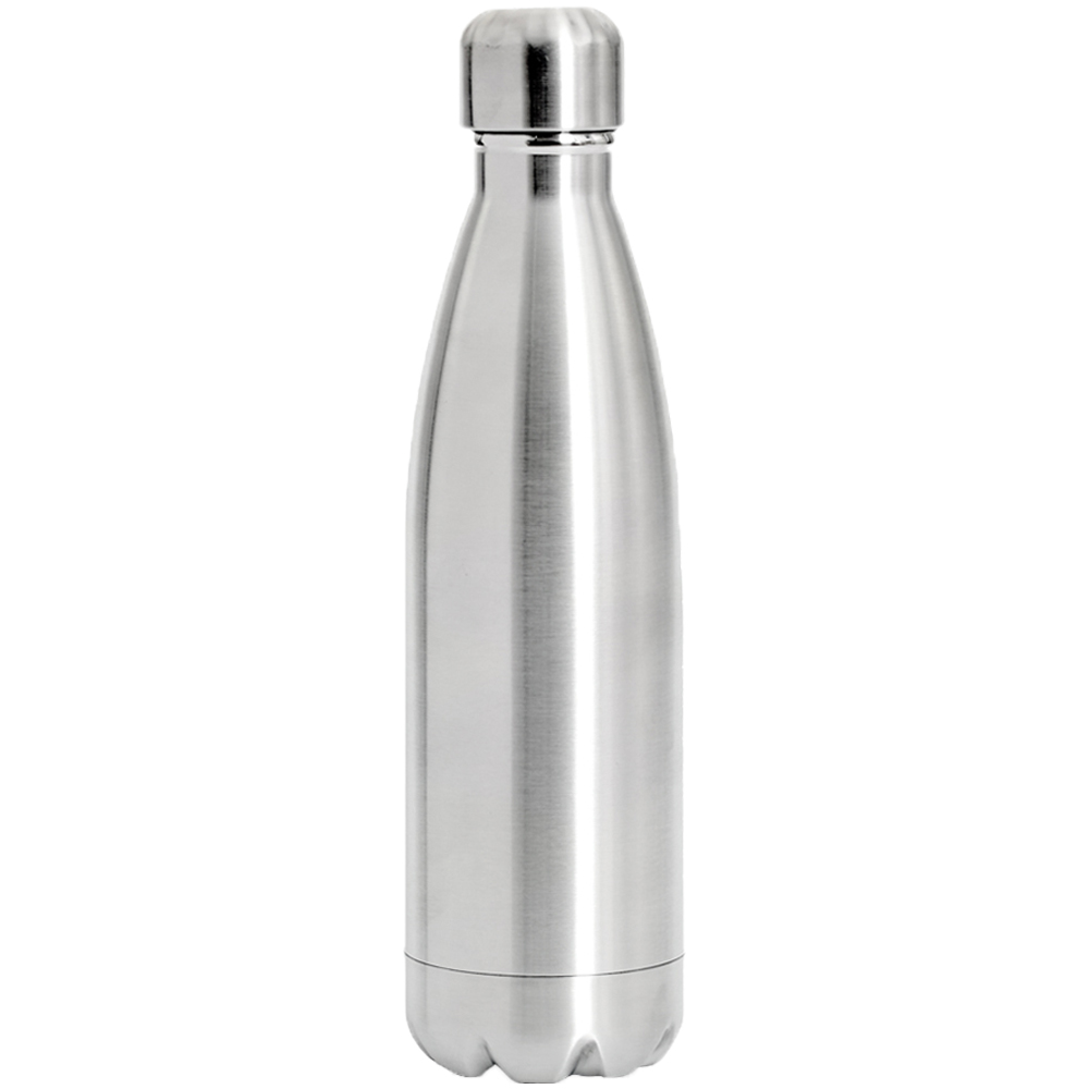 17oz stainless steel levian cola shaped bottles tm301 silver1584012260